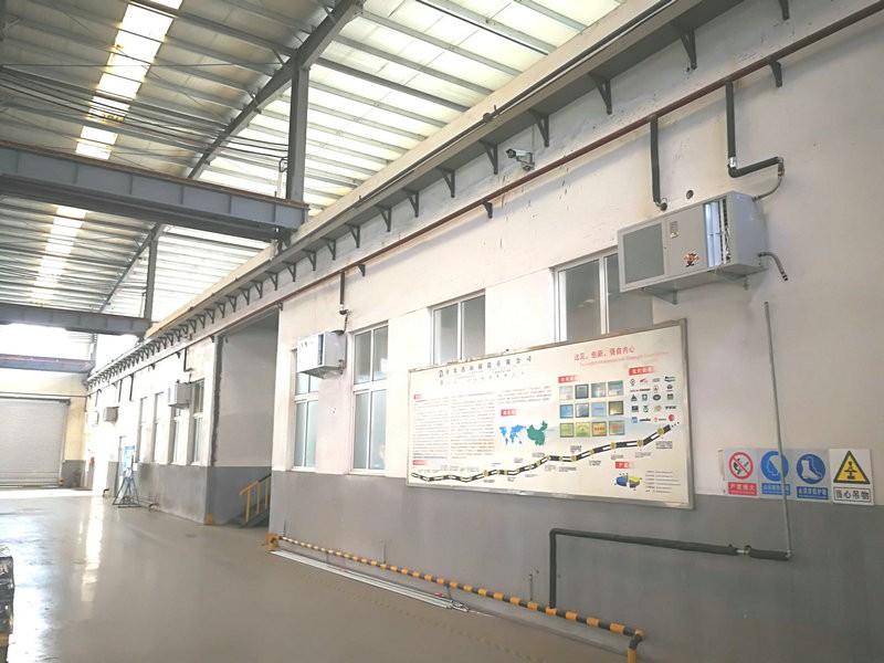 青岛铸造车间5000平采暖制冷工程